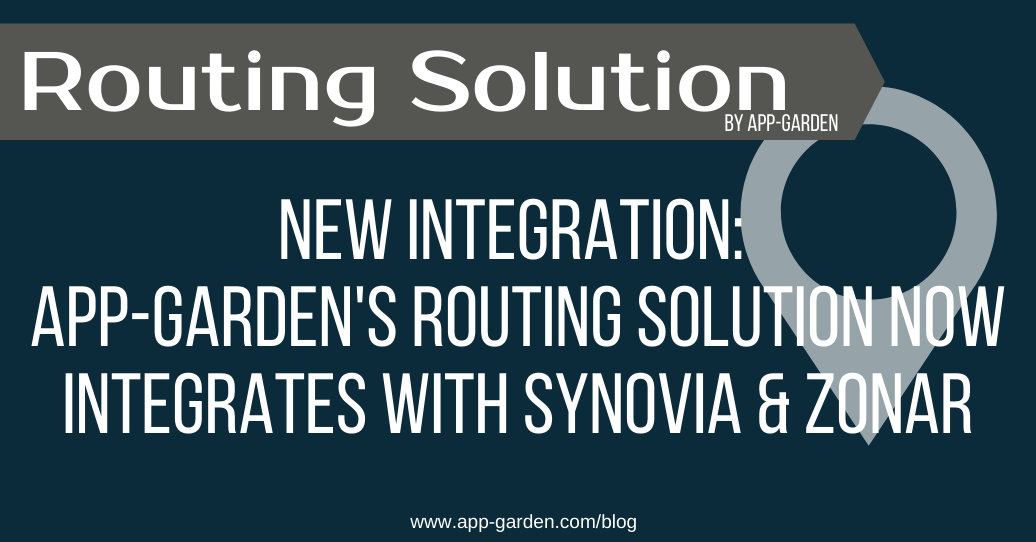 App-Garden Releases New Synovia and Zonar Integration